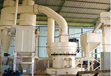 Gypsum Ore Grinding Plant in China