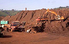 Metal Ore Mining crushing