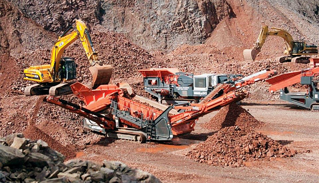 Crawler Plant for Ore Mining & Rock Quarry